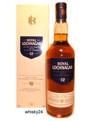 Eine Flasche Whisky Royal Lochnagar 12 Jahre
